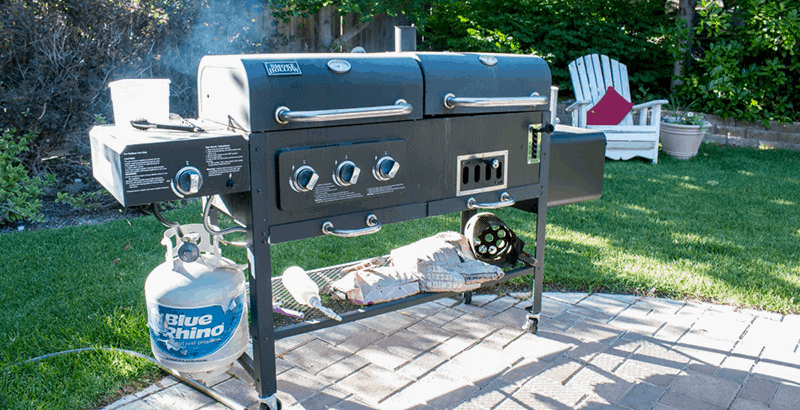 smoke hollow propane grill