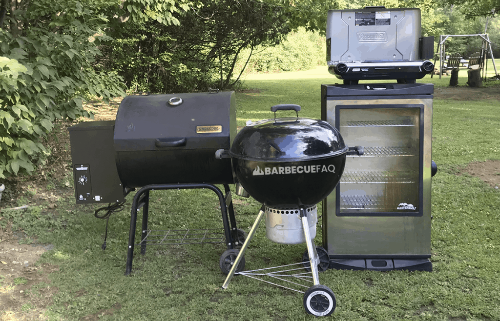 types of grills