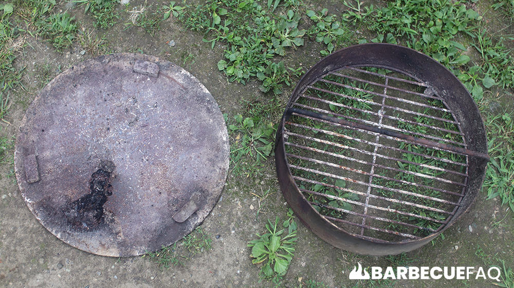 pit barrel cooker ash pan