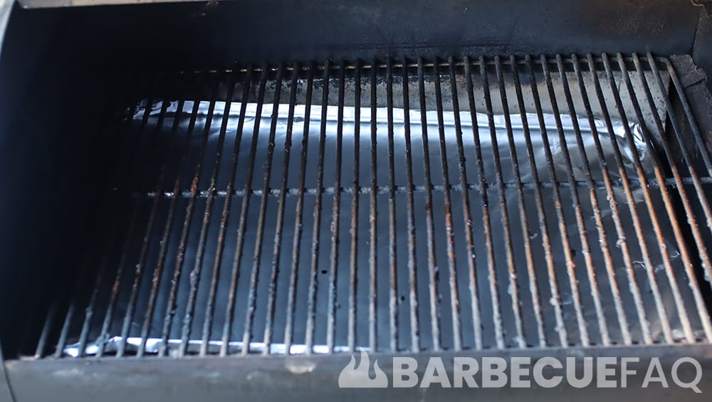 cleaning pellet grill step 5