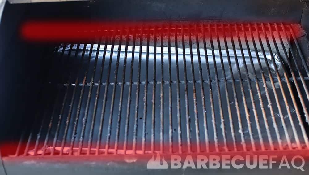 pellet grill hot zones